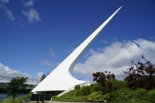 Sundial Bridge is a top Northern California attraction in Redding