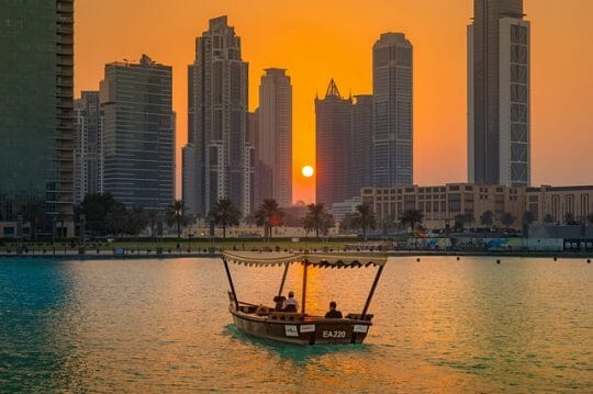 Dubai is a wonderful weekend getaway from Mumbai
