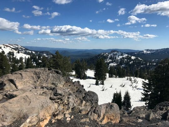 The Dark Skies program at Lassen National park is one of the best summer events
