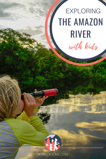 Exploring the Amazon River in Brazil with kids is an amazing adventure for families looking to get off the grid a bit.