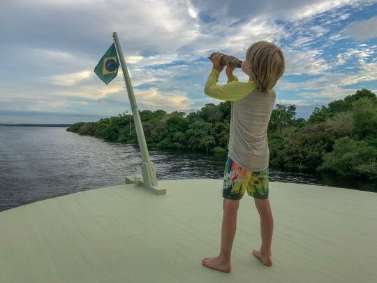 Amazon cruise with kids
