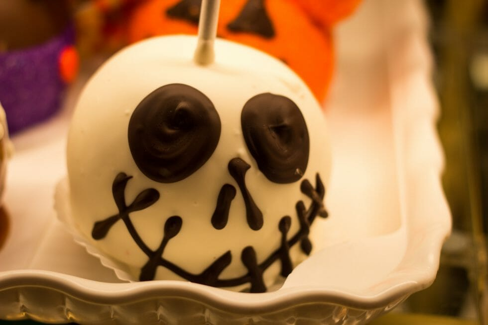 Celebrating Halloween at Disneyland with spooky treats