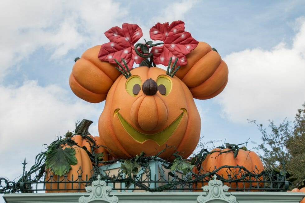 Celebrating Halloween at Disneyland