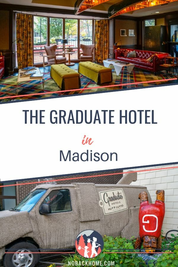 The best hotel for students, families and business travelers is the Graduate Hotel in Madison.