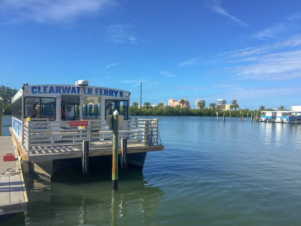 Take a boat tour for some things to do in Clearwater Florida