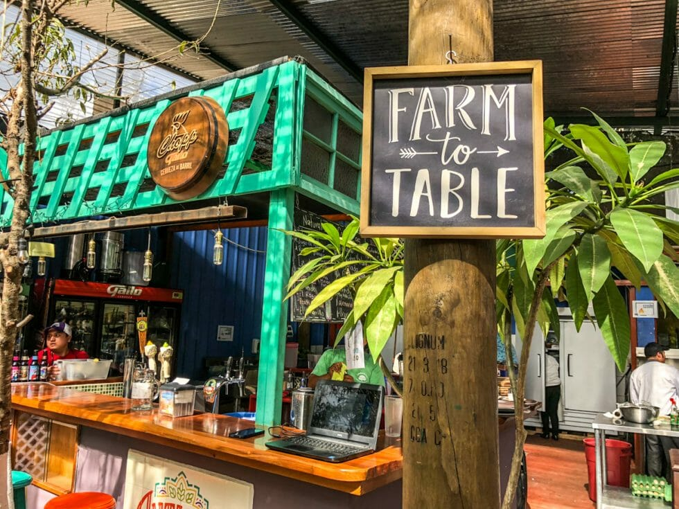 This farm to table restaurant is the best restaurant in Antigua Guatemala!