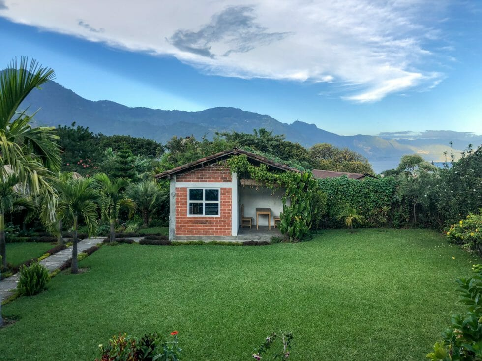 Study Spanish in Guatemala in these little huts!