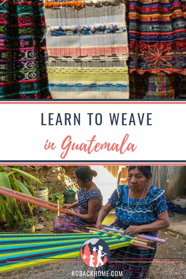 Learn weaving in Guatemala at TinteMaya