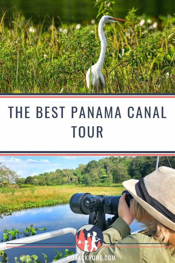 The best tour of the Panama Canal is with 9 North Safari's