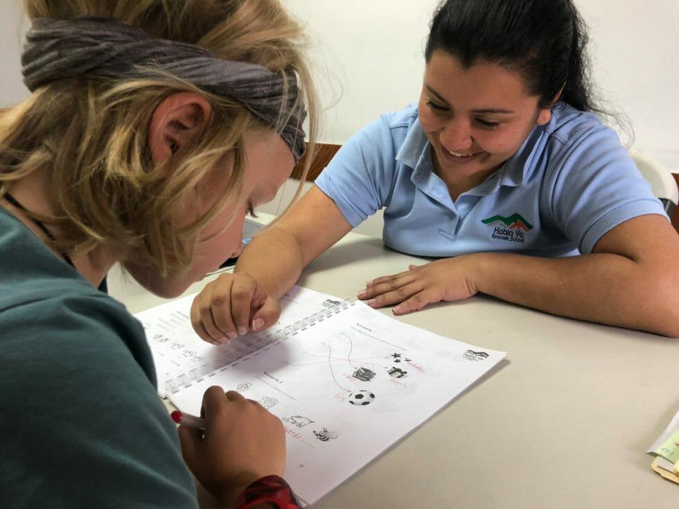 Teachers at Habla Ya: Learning Spanish in Panam