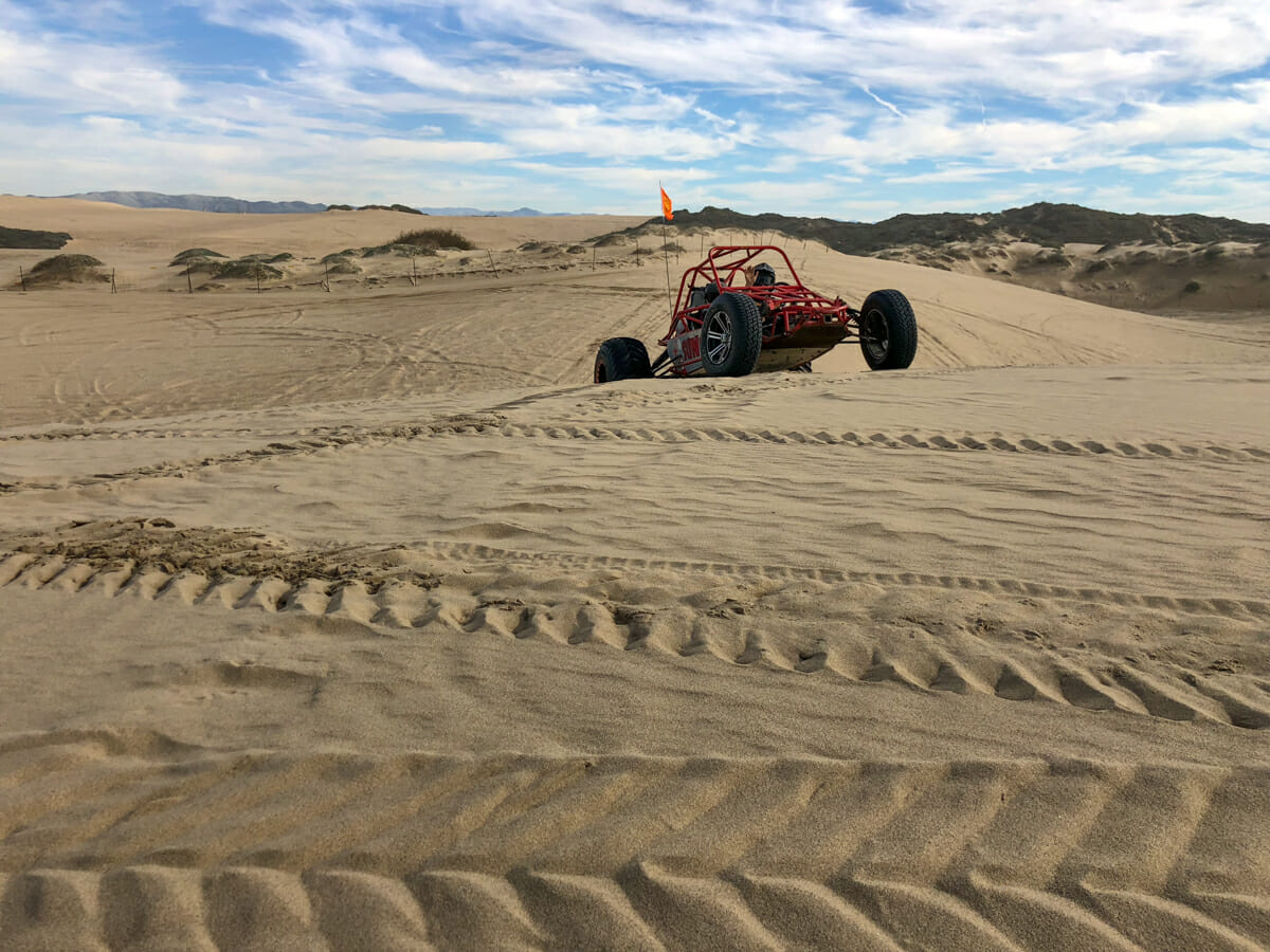An Amazing Adventure in a Pismo Beach Dune Buggy - No Back Home