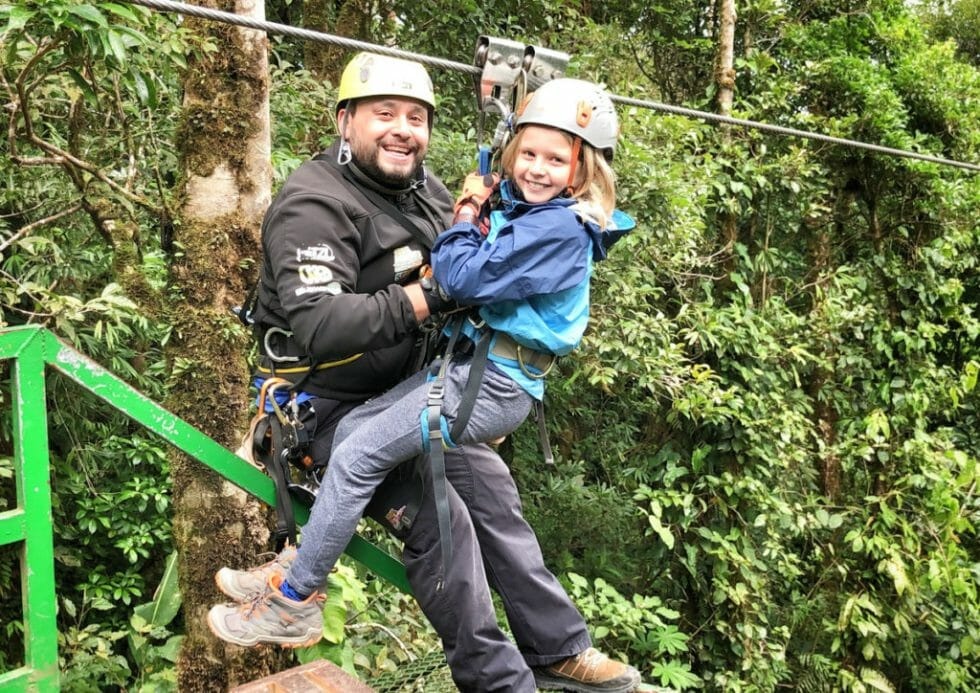 Zip Lining is one of the Top Things to do in Manuel Antonio