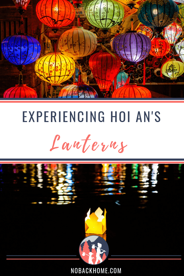 Make your own silk lantern as a souvenir in Hoi An Vietnam