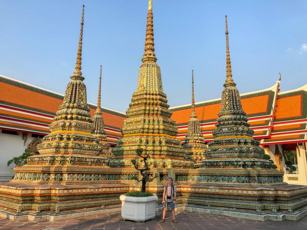 Wat Pho is one of the best sites to visit in Bangkok with Kids