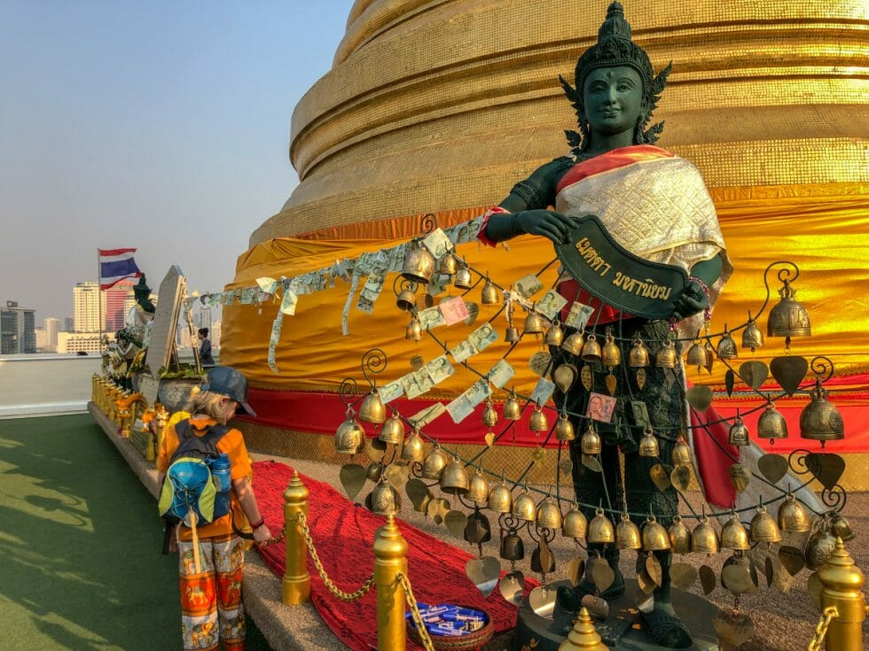 Ring the bells on Golden Mount in Bangkok with Kids