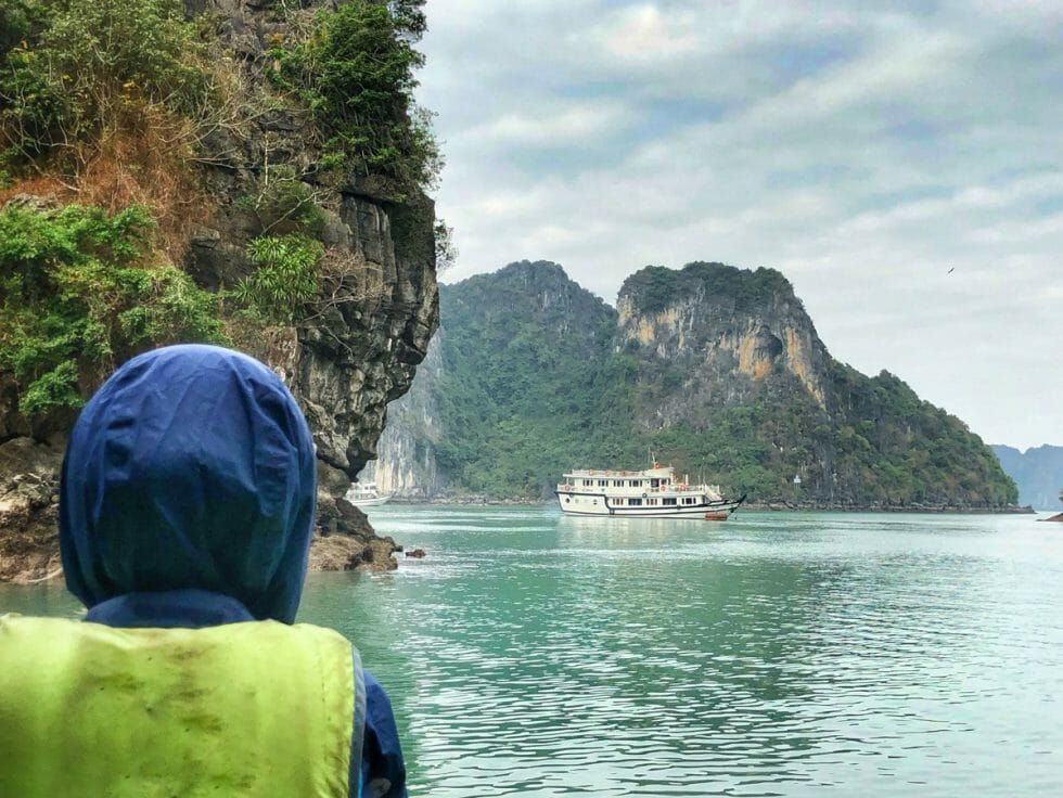 The best time of year to do a Halong Bay cruise is anytime!