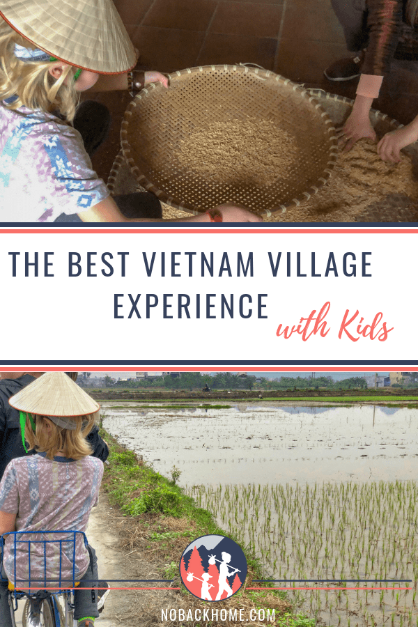 The best homestay in Vietnam village experience with Indochina Junk