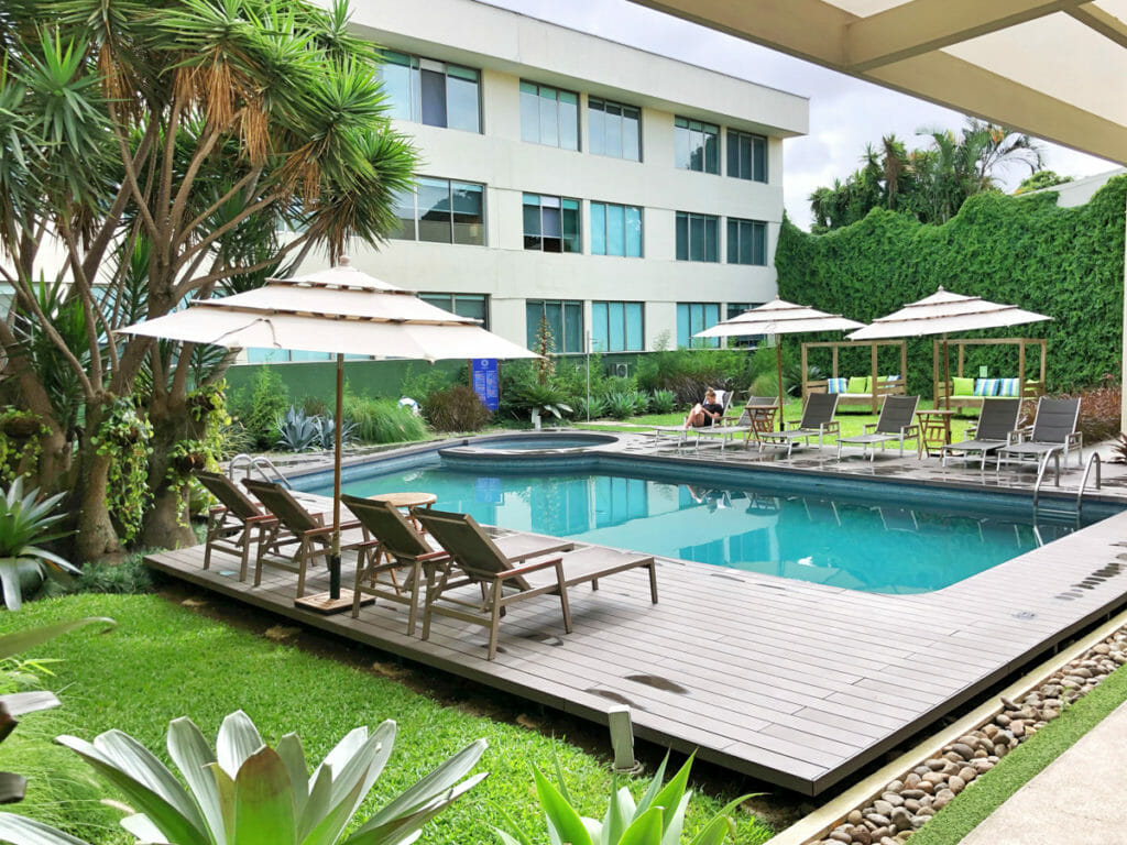 The level of accomodation on our Costa Rica Family vacation with intrepid travel