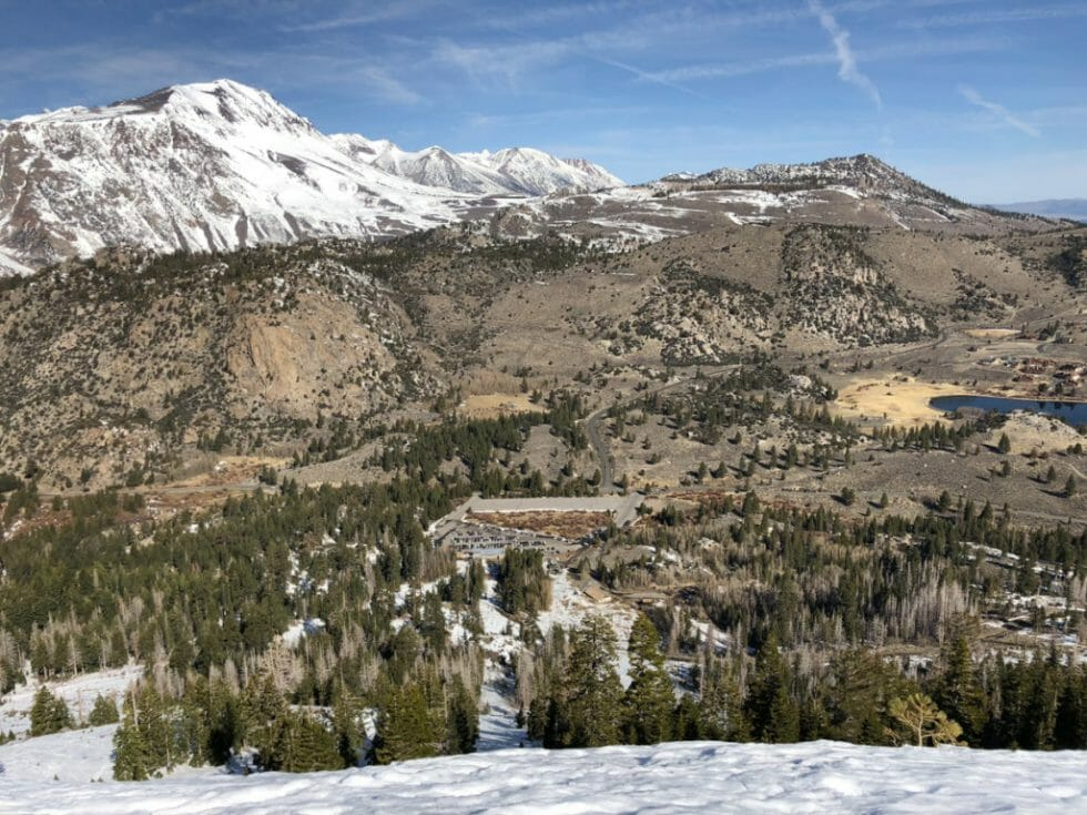 June Lake Ski Resort is one of the best California ski resorts for families