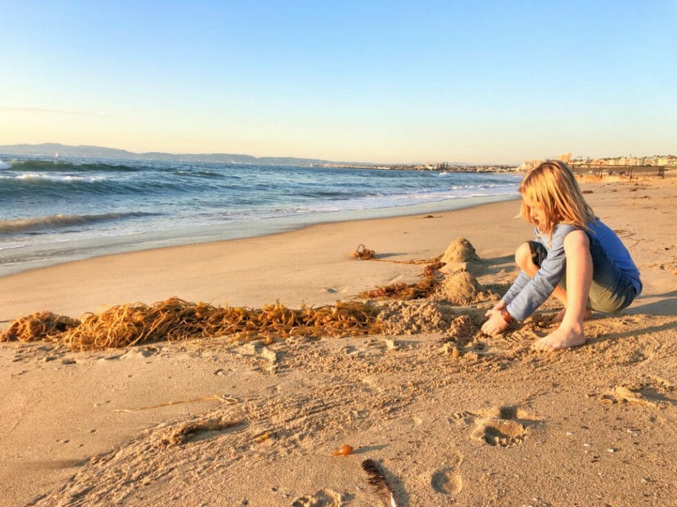 One of the top things to do in Torrance is hang out at Torrance Beach