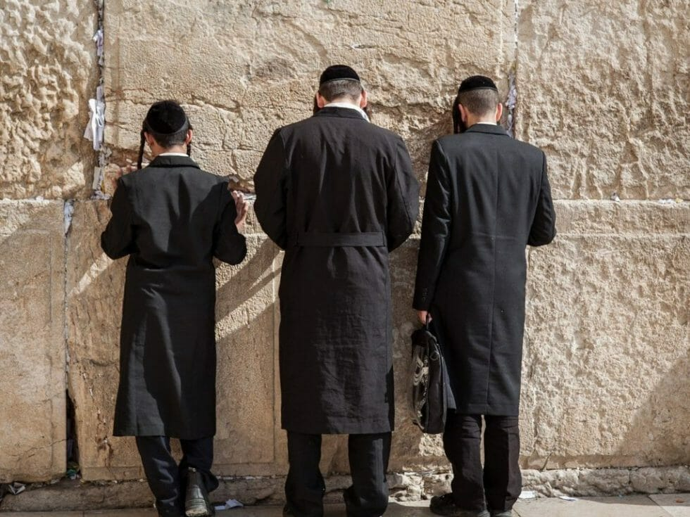 Western Wall is a must visit while in Israel with kids